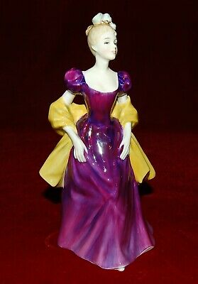 "ROYAL DOULTON ""LORETTA"" HN 2337 Magnificent Figurine! Reg.225$ Made In England"