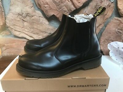 526bb3d94a0 DR. MARTENS NEW 2976 Chelsea Boot Black Smooth Men s 12 Doc F7 ...