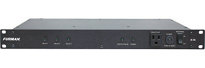 Furman M-8S 120V/15A Power Conditioner with Sequencer 9 outlets 6 sequenced M8S