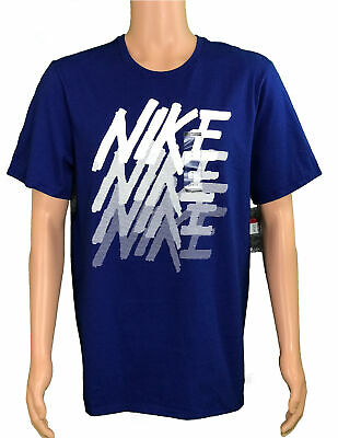 f3bf4cfa0 NEW Nike Active Wear Men's Size L White Graphic Athletic T-Shirt AQ7386-455
