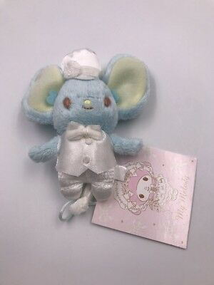 Sanrio: My Melody's Blue Mouse Flat Plush with Chain (C2)