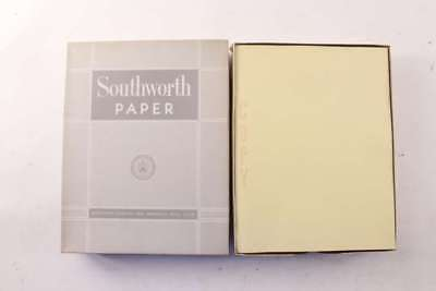Vintage Southworth Duo Manifold Typewriter Copy Paper 1000 Sheet Box NOS