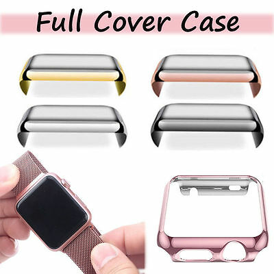 New Apple Watch Iwatch Series 3 Hard Case Cover Screen Protector for 42mm 38mm