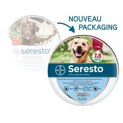 SERESTO Grand chien plus de 8kg