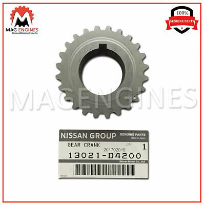13021-D4200 Nissan Genuine Crankshaft Sprocket For Pulsar Nx 1987-90