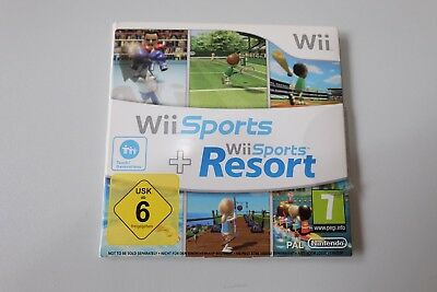 Wii Sports und Wii Sports Resort Nintendo Wii 2in1 mit OVP