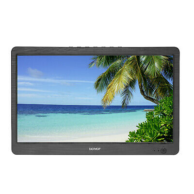 "10"" Portable TV LED-1031 HDMI Freeview 12v Mains or Built-In Battery Powered USB"
