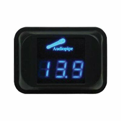 Audiopipe NLD-100 Digital Volt Meter Blue LED Car Audio 11.1 - 15.9V