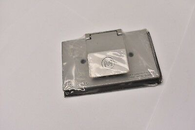 Mulberry 30505 Horizontal Self-Closing Single Receptacle Cover Lot of 4