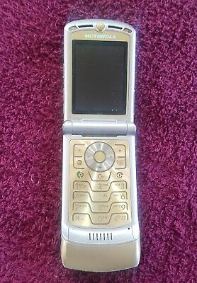 vintage cell phone Motorola At&t gold color
