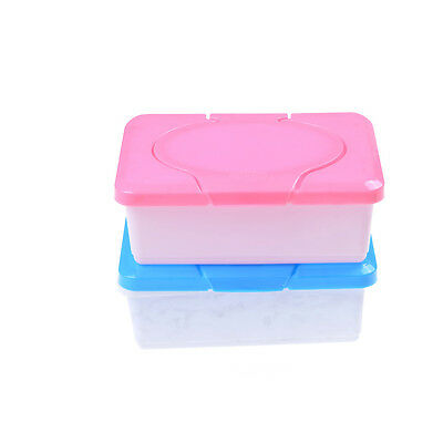 Wet Tissue Paper Case Care Baby Wipes Napkin Storage Box Holder Container LL