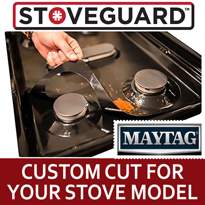 Stove Top Protector for Maytag Gas Ranges - Ultra Thin, Easy Clean Stove Liner