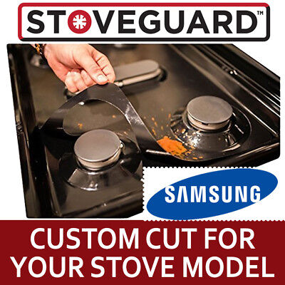 Stove Top Protector for Samsung Gas Ranges - Ultra Thin, Easy Clean Stove Liner
