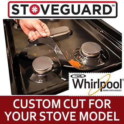 Stove Top Protector for Whirlpool Gas Ranges - Ultra Thin Easy Clean Stove Liner