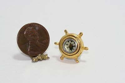 Dollhouse Miniature Nautical Working  Compass by Multi Minis