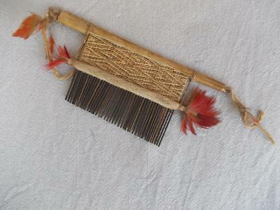 260 / Excellent Antique Hand Made African Tribal Hair Comb