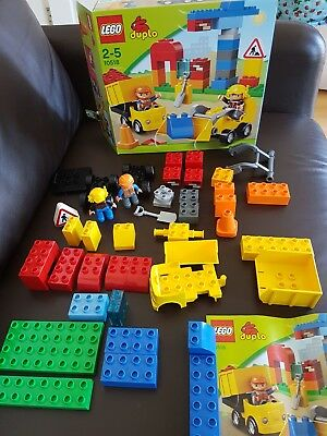 Lego Duplo My First Construction Site 10518 With Box And