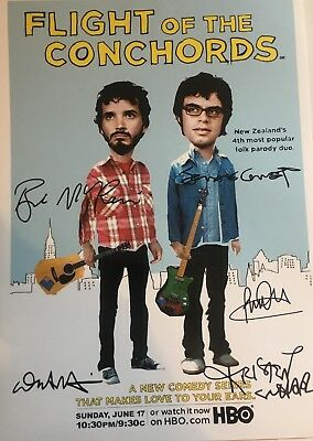 Flight of the Conchords signed print