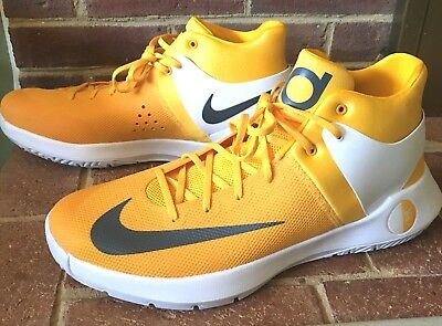 d43917d03079 New NIKE Zoom KD TREY 5 IV Basketball Yellow Shoes 856484-771 Mens Size 16.5