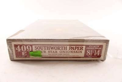 Vintage Southworth Four Star Onionskin Cockle Finish Typewriter Paper 500 Sheet