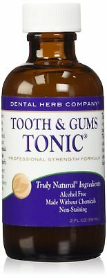 Dental Herb Company Tooth & Gums Tonic -Professional Strength formula 2oz. Pk 24