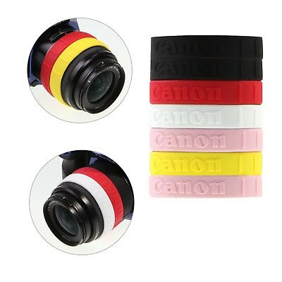 7pcs Canon Lens Band Stop Zoom Creep for 49mm 52mm 58mm 62mm 67mm 72mm 77mm 82mm