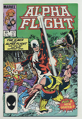 Alpha Flight #17 1984 Wolverine X-Men John Byrne Marvel p