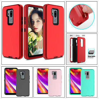 For LG G7 ThinQ Shockproof Case Hybrid Rugged Bumper Hard Armor Protection Cover