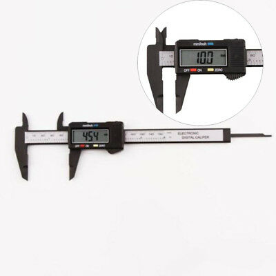 LCD Digital Electronic Carbon Fiber Vernier Caliper Gauge Micrometer Ruler 150mm