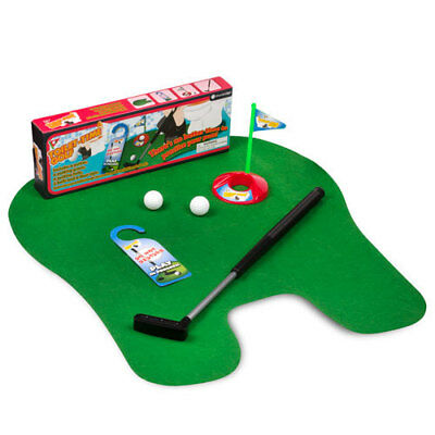 THUMBS UP! Toilet Time Golf Game Novelty Gift Fun