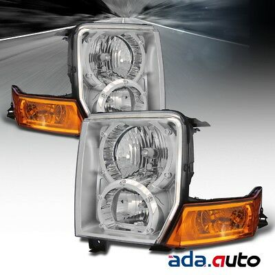 2006 2007 2008 2009 2010 Jeep Commander Headlights Replacement Lamps Pair