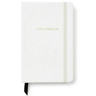 Kate Spade Concealed Spiral Leatherette Notebook with Gilded Page Edges