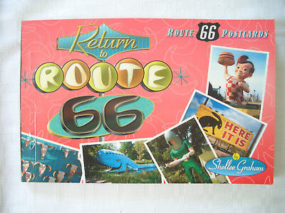 "Return to Route 66"" Postcards"""