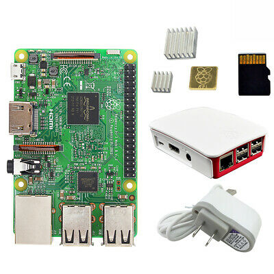 Raspberry Pi 3 Model B starter kit Quad core 1.2 GHz Broadcom BCM2837 64 bit CPU