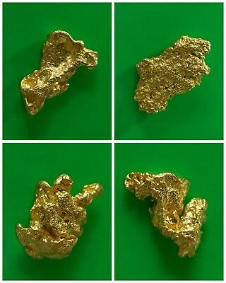 Gold Nuggets 1.37 gms Four Gold Nuggets Australian / Natural / Gold Nugget