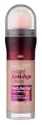 Maybelline The Eraser Instant Anti-Age Foundation 045 Light Honey  (German Text)