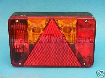 LH Radex 5800 Rear Trailer Lamp Light - Non Plug-in - Indespension Ifor Williams