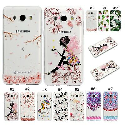 Ultra Thin Rubber Soft TPU Back Case Cover For Samsung Galaxy S7/8/9 J3 J5 2017