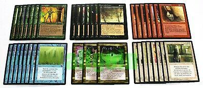 MTG L'OSCURITA' Set Completo Comuni (40 Carte) THE DARK ITA Common Set