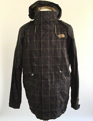 7ce02fd3e6 ... sweden the north face cryptic hyvent recco system ski snowboard hood jacket  coat large 469e7 a4c61