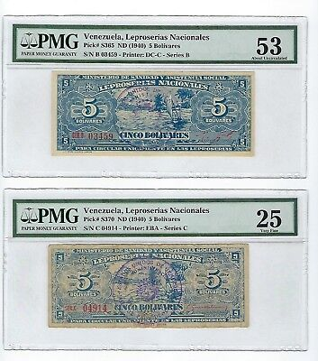 Venezuela Leproserias Nacionales Set of 4 All Finest Known/1 only known