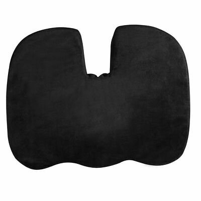 Orthopaedic Memory Foam Wedge Coccyx Seat Cushion for Posture & Pain Relief