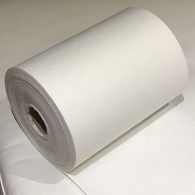 80g :-10m (x24cms) -White Cut Away Embroidery Stabiliser/backing - Soft & Strong