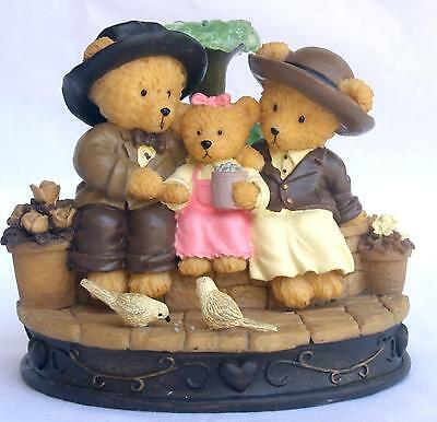 "Avon Gift Collection Beary figure ""Beary Happy Family"" Mint Boxed"