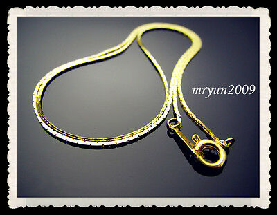 20pcs Jewelry Gold plated snake Claw chain Necklace Findings Hooks Clasp 16 Inch