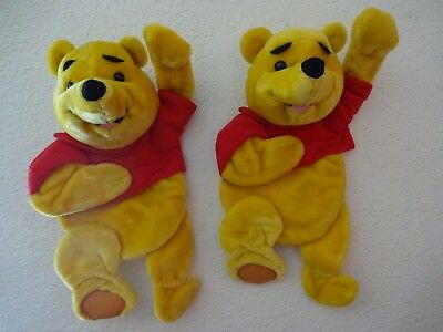 2 Plush Winnie The Pooh Wall Hangings For Nursery-Ready To Hang