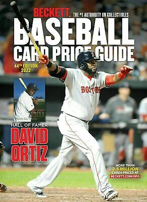 2019 Beckett Baseball Card Annual Price Guide ~ 41st Edition ~ New Sealed!