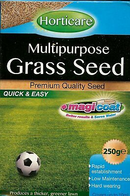 2 x Magicoat 250g Premium Quality Green Grass Seed fast growing Seeds