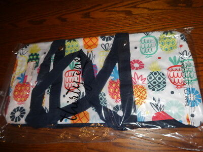 THIRTYONE Thirty One 31 Gifts LARGE UTILITY TOTE Brand New - Lotta Colada