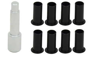 Door Hinge Bushing Liners Delrin for Jeep Wrangler JKU 2007-18 4 Door Kentrol
